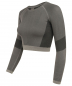 Mobile Preview: Crop-Top light grey