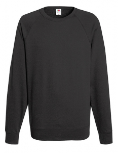 Herren Sweat Gr. M Light Graphite