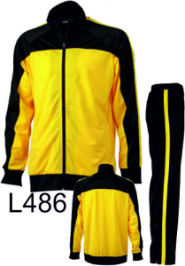 Tracksuit Teamsuit Yellow