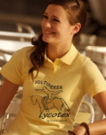 Lady Fit Polo , inkl. Logo2